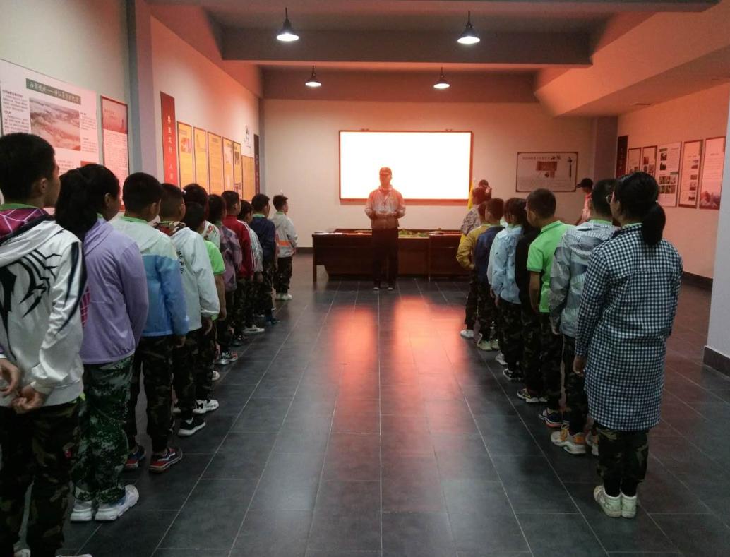 宝鸡麒瑞麟拓展公司来园区开展小学生拓展夏令营活动